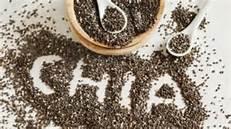 graines chia noir entiere biologique fibre gras omega bienfaits