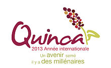logo annee internationale 2013 quinoa grain