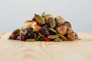 melange baie goji aventure biologique graines citrouille raisins secs noix