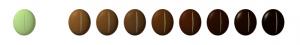 niveaux torrefaction grains cafe gout saveur doux corse