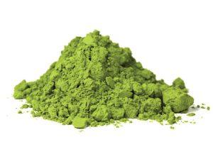 poudre matcha the vert biologique superaliment antioxydant feuilles