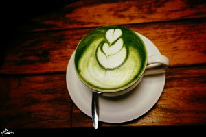 poudre matcha the cafeine absorption fer