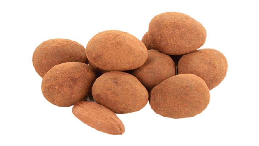 amandes biologiques chocolat noir poudre cacao