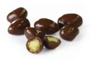 pistaches biologique chocolat lait caramel toffee