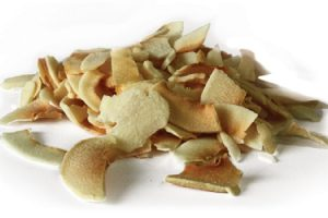 noix coco tranchee grillee biologique sri lanka fruit seche gras alimentaire fibres
