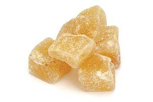 gingembre cubes des seche biologique sucre chine