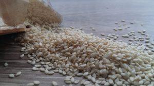 graines sesame decortiquees biologiques inde recolte origine