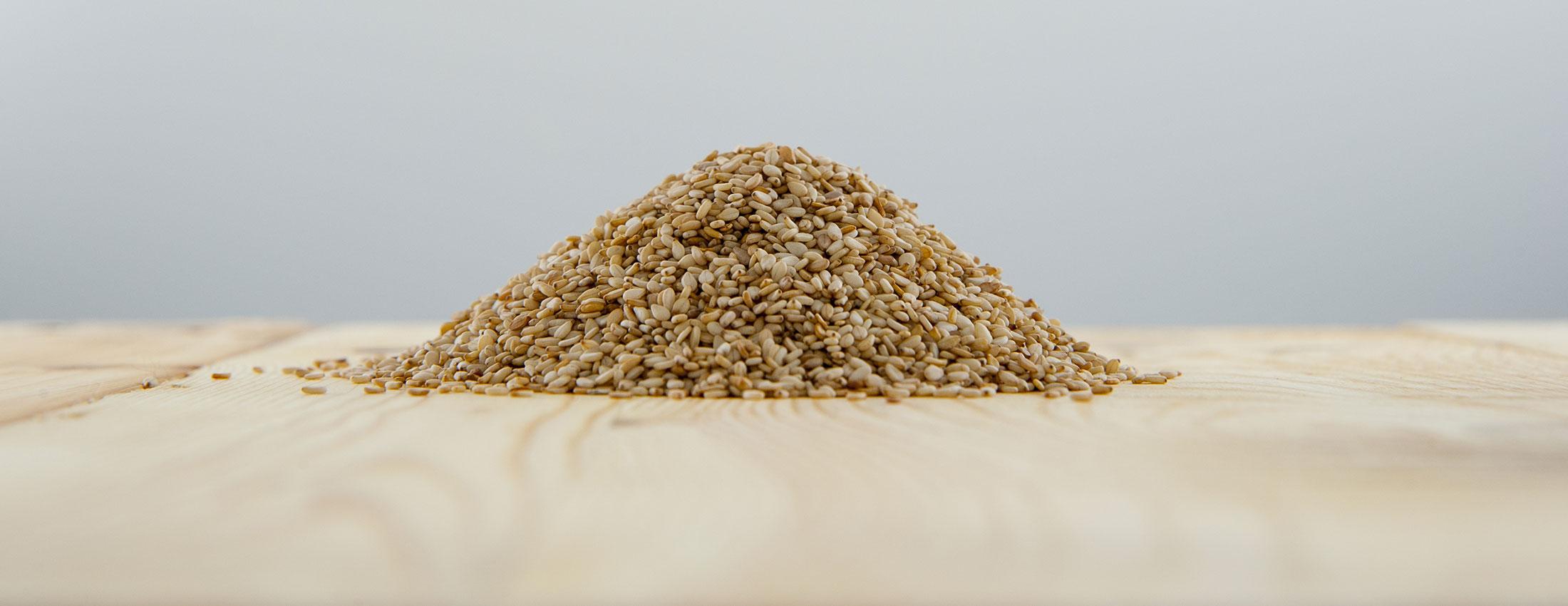 graines sesame naturelles biologiques inde profil nutritionnel mineraux nutriments fibres