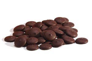pastilles chocolat noir 60 biologique equitable cacao beurre proprietes nutrition antioxydants aliment frequence occasion