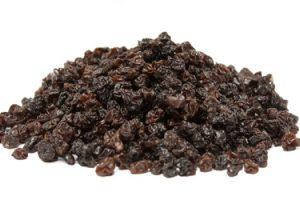 raisins corinthe secs biologique fruit recettes vitamines mineraux sucre collation